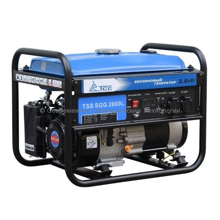 Бензиновый генератор ТСС 2.8кВА/2.8кВт (TSS SGG 2800L)