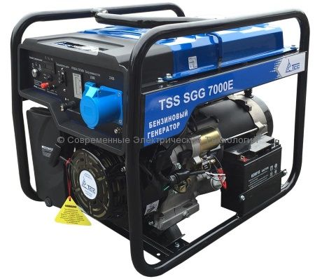 Бензиновый генератор ТСС 8.8кВА/7кВт (TSS SGG 7000 E3) 380В