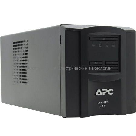 Источник бесперебойного питания APC Smart-UPS 750VA LCD 230V SMT750I