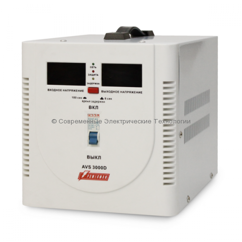 Cтабилизатор напряжения 3000ВА Powerman AVS 3000D