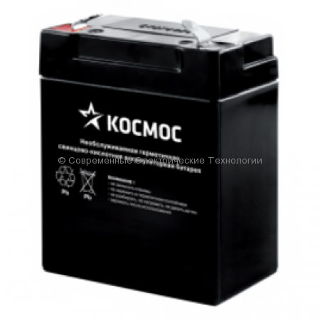 Аккумулятор 4В 3Ач для фонарей КОСМОС модели 9199LED, 1500LED