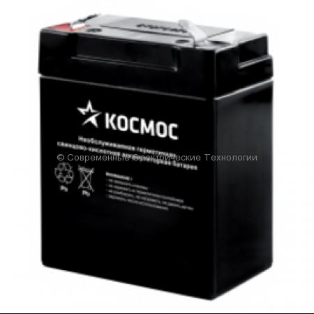 Аккумулятор 6В 4Ач для фонарей КОСМОС Accu6011, Accu368, Ap1500S, Ap2000S, Ap2008A