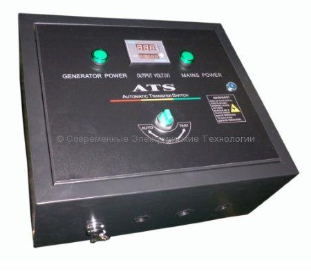 Блок автоматического запуска 10кВт 230В для 1-фазных генераторов Ecovolt Home