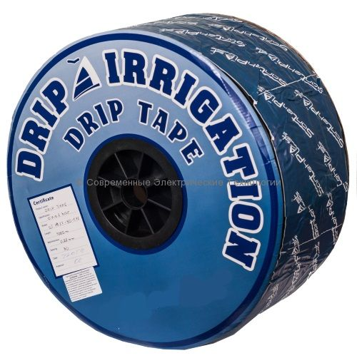 Капельная лента эмиттерная DT д.16мм, 8mil, шаг 10см, 1.4л/час (1000м)