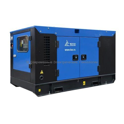 Дизельный генератор ТСС АД-10С-230-1РКМ13 Стандарт в шумозащитном кожухе 230В 10кВт