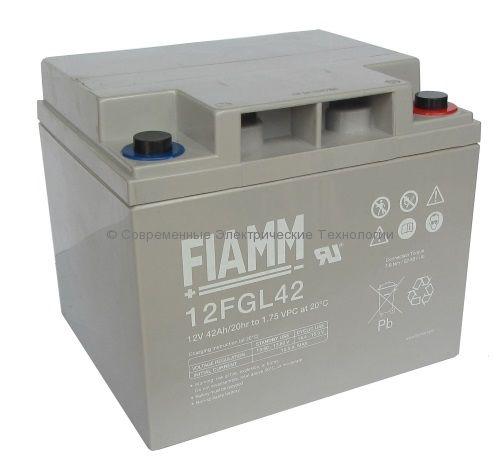Аккумулятор необслуживаемый Fiamm FGL 12В 42Ач (12FGL42)