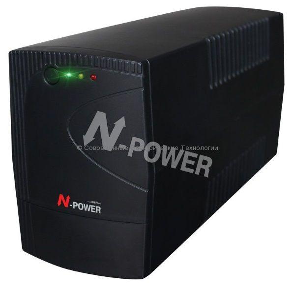 N-Power Gamma-Vision 600 Источник бесперебойного питания  600ВА/360Вт (GMV600)