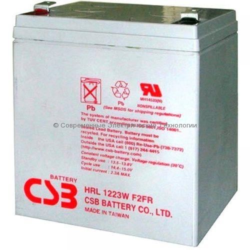 Аккумулятор CSB 12В 7Ач 25W (HRL1225W)