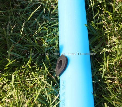 Резиновый уплотнитель профильный тип H 16x8мм (RR011608)