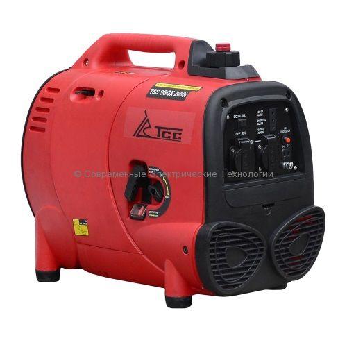 Бензиновый инверторный генератор ТСС 2кВА/2кВт (TSS SGGX 2000i)