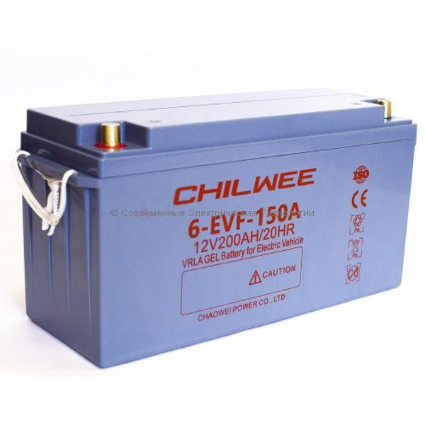 Тяговый гелевый аккумулятор 12В 160Ач (C5) (6-EVF-150A)