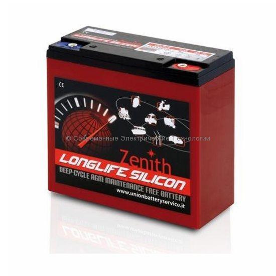 Тяговая аккумуляторная батарея 12В 28Ач (C20) ZLS120120