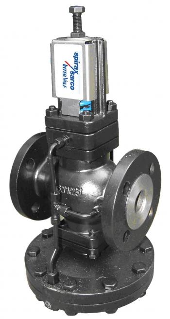 Мембранный редуктор давления воды для промышленного водоснабжения