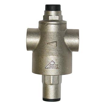 Поршневой редуктор давления воды для бытовых систем водоснабжения