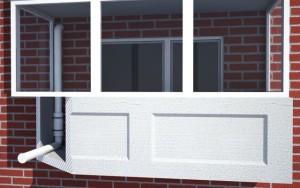 Монтаж рекуператора на балконе квартиры