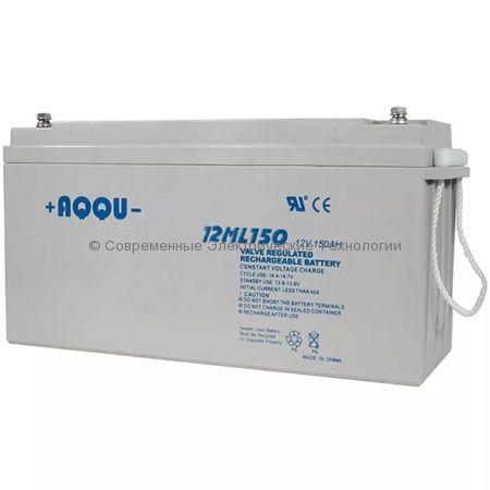 Аккумулятор AQQU 12В 150Ач 12ML150