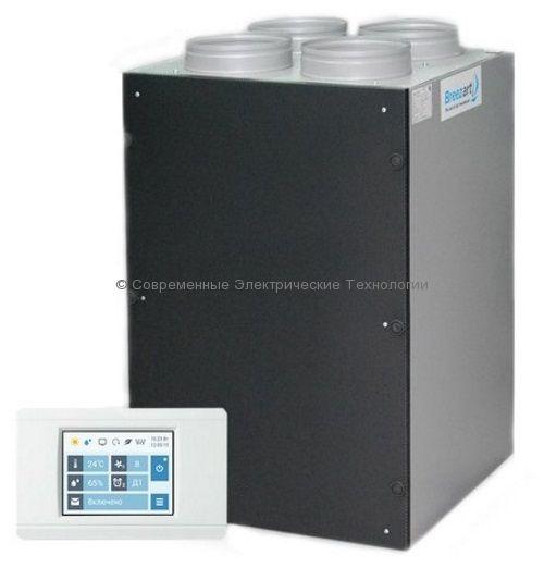 Приточно-вытяжная установка с рекуператором и электрическим нагревателем (Breezart 700RR)