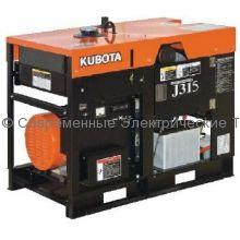 Дизельный генератор с водяным охлаждением J315 Kubota