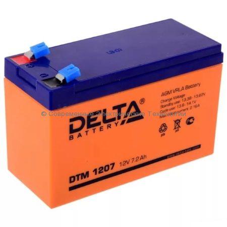 Аккумуляторная батарея DELTA 12В 7Ач (DTM 1207)