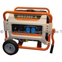 Газовый генератор 2.4кВт на раме REG (GG3300-X)