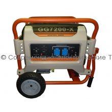 Газовый генератор 5.5кВт на раме REG (GG7200-X)