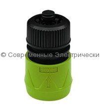 Коннектор для шланга 1/2-5/8 дюйма с функцией Аквастоп (HC0325)