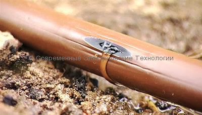 Шланг компенсированный для капельного полива шаг 33см расход 2.3л/час (XFD2333100)