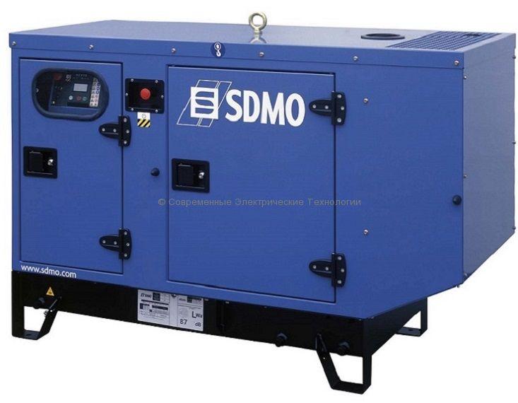 Дизельный генератор 12кВт с жидкостным охлаждением SDMO Pacific T12KM-IV