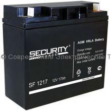 Аккумуляторная батарея Security Force 12В 17Ач (SF 1217)