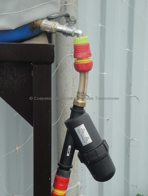 Фильтр сетчатый для капельного полива 120mesh НР3/4 (1725S120M)