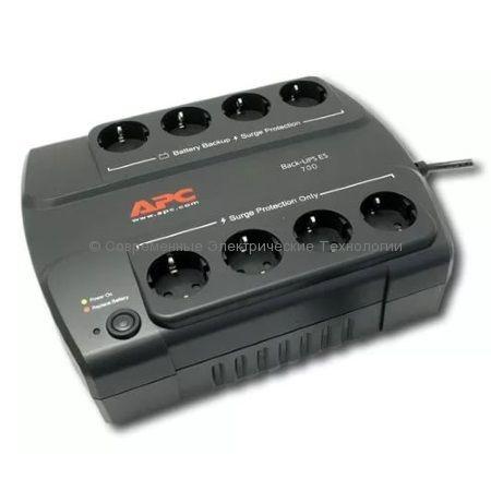 Источник бесперебойного питания APC Back-UPS 700VA ES BE700-RS