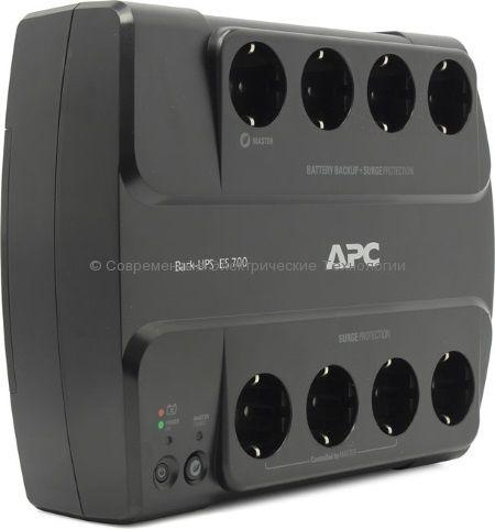Источник бесперебойного питания APC Back-UPS Power-Saving ES 8 Outlet 700VA 230V BE700G-RS