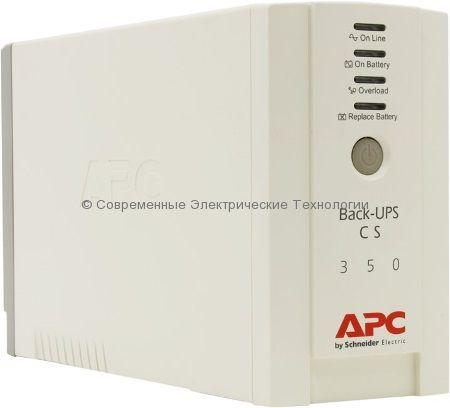 Источник бесперебойного питания APC Back-UPS 350, 230V BK350EI