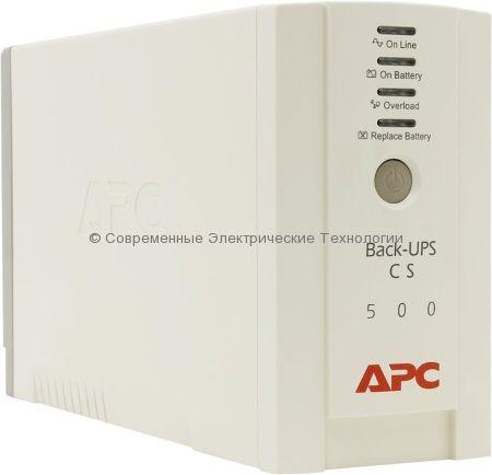 Источник бесперебойного питания APC Back-UPS 500 230V BK500EI