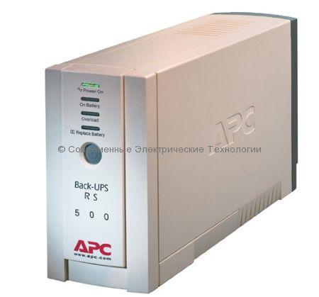 Источник бесперебойного питания APC Back-UPS RS 500VA BR500I