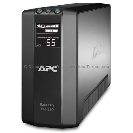 Источник бесперебойного питания APC Back-UPS Pro Power-Saving Pro 550 BR550GI