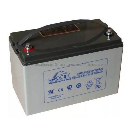 Аккумулятор Leoch 12В 100Ач (DJM 12100)