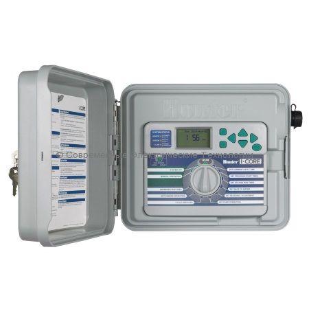 Контроллер автоматического полива на 6 зон наружный расширяемый (IC-601PL)
