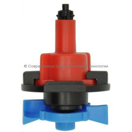 Подвесной микроспринклер 80л/час радиус 2.5м зелёный (MS8080)