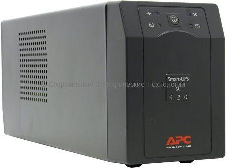 Источник бесперебойного питания APC Smart-UPS SC 420VA 230V SC420I
