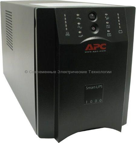 Источник бесперебойного питания APC Smart-UPS 1000VA USB & Serial 230V SUA1000I