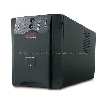 Источник бесперебойного питания APC Smart-UPS XL 750VA USB & Serial 230V SUA750XLI