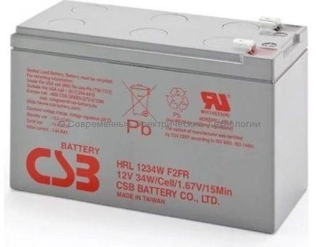 Аккумулятор герметичный CSB 12В 9Ач (HRL 1234W)