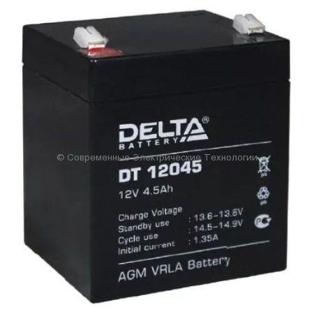 Аккумуляторная батарея DELTA 12В 4.5Ач (DT 12045)