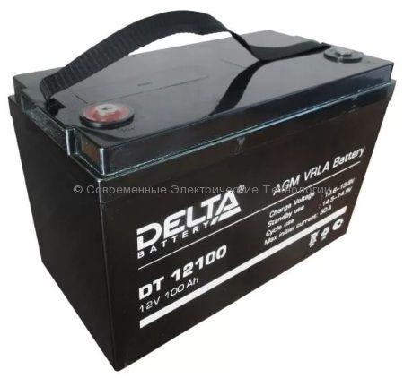 Аккумулятор DELTA 12В 100Ач (DT 12100)