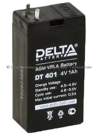 Аккумуляторная батарея DELTA 4В 1Ач (DT 401)