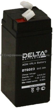Аккумуляторная батарея DELTA 6В 2.3Ач (DT 6023)