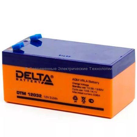 Аккумуляторная батарея DELTA 12В 3.2Ач (DTM 12032)