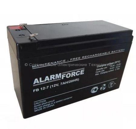Аккумулятор Alarm Force FB 12В 7.2Ач (FB 7.2-12)