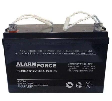 Аккумулятор Alarm Force FB 12В 100Ач (FB 100-12)